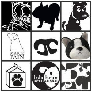 Black and White Twitter Dog Icons