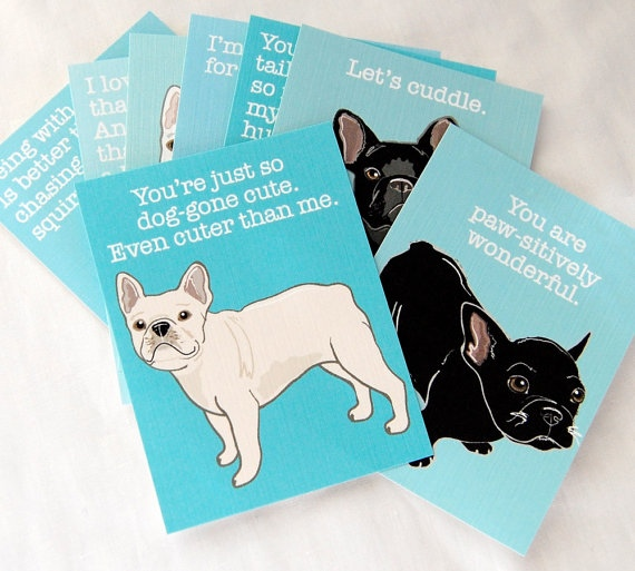 Frenchie Valentines