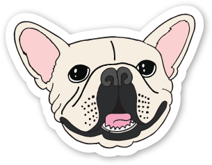 Batpig Sticker Proof