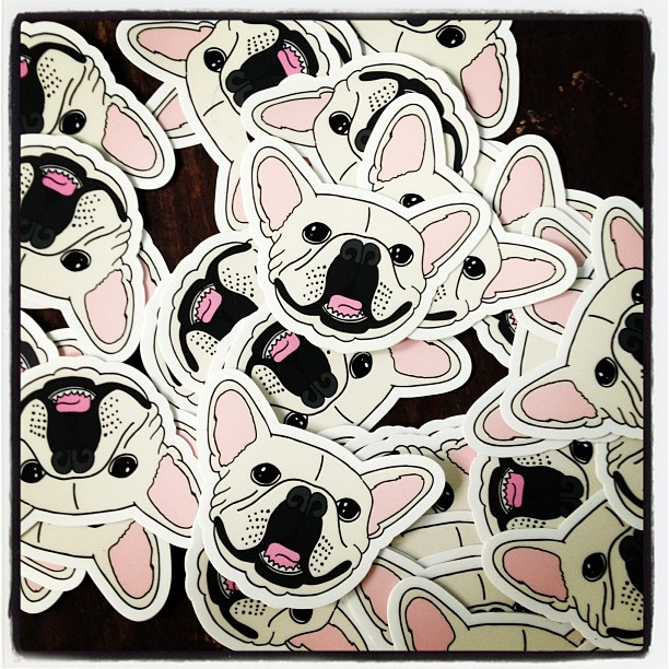 Batpig Stickers