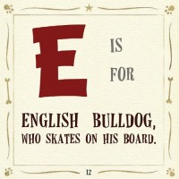 e is for english bulldog bill robinson