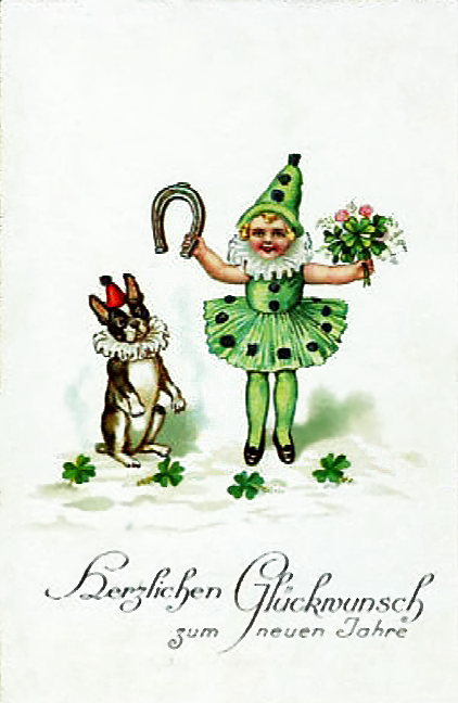 Vintage frenchies love st paddy's day